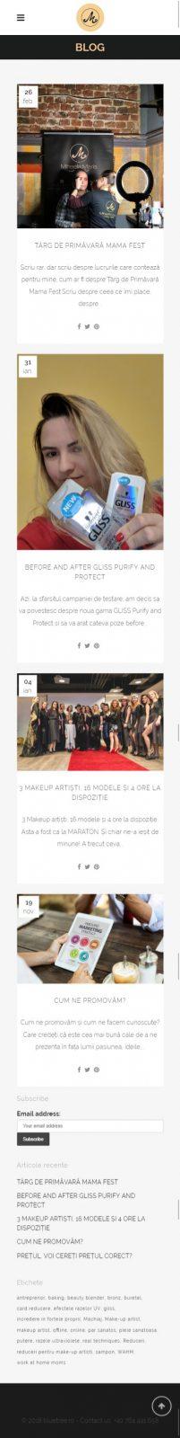 realizare website, blog, creare logo