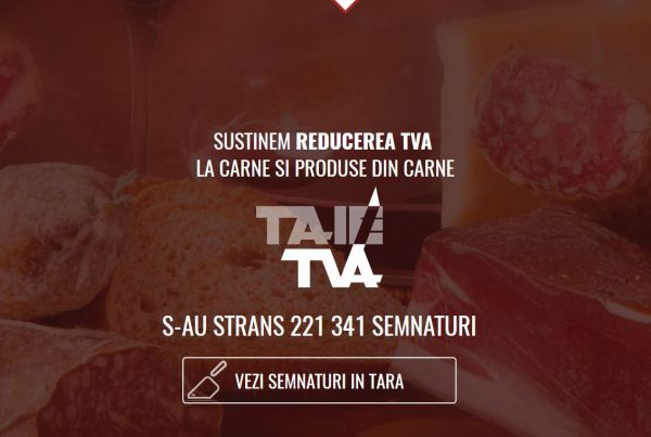servicii web design realizare site web TaieTVA,ro petitie