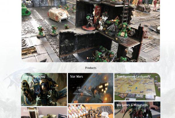 realizare servicii web creare site web si magazin online war-games-store.ro
